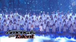 One Voice Childrens Choir: Choir Covers Let It Go From Frozen - Americas Got Talent 2014