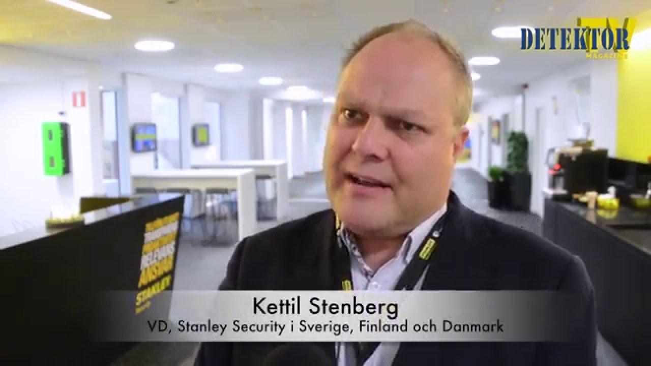 Intervju med Kettil Stenberg, vd för Stanley Security