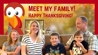 Meet My Family! RareThanksgiving Behind the Scenes!