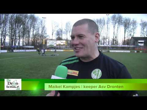 VIDEO | Teruggekeerde Maikel Kampjes wil Asv Dronten 'final touch' geven