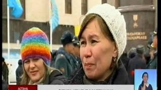 В Астане установили  памятник Рахимжану Кошкарбаеву