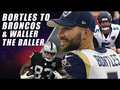 Broncos Sign Bortles & Raiders Handle Saints on MNF