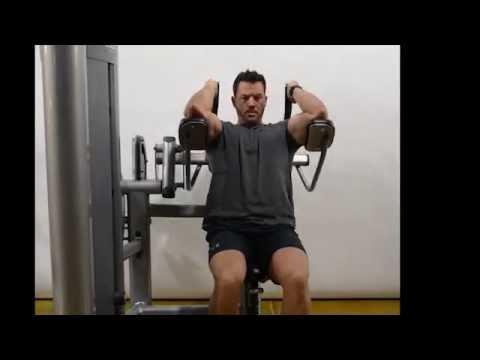 Ab Crunch (Machine) - Seated