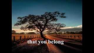 SOMEWHERE DOWN THE ROAD - Barry Manilow (Lyrics)