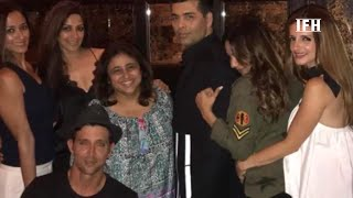 hrithik-roshan-and-sussanne-party-together-with-karan-johar--ifh-