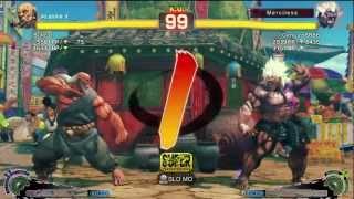 Bullcat (Gouken) Vs Genjuro8888 (Oni) - AE 2012 Match *720p*