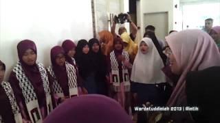 Wardatuddiniah Feat Sara Haikal   Rintih