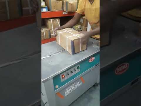 Semi Automatic Box Strapping Machine