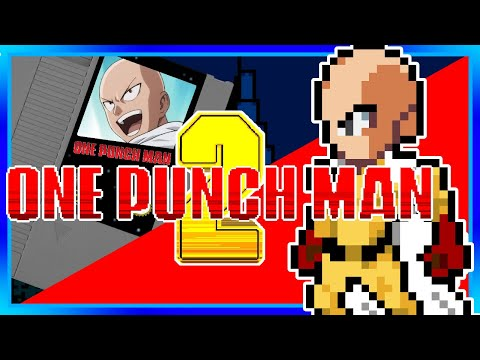 One Punch Man on Nintendo! FULL One Punch Man 2 Opening Cover [8 Bit] Apostle of Silence