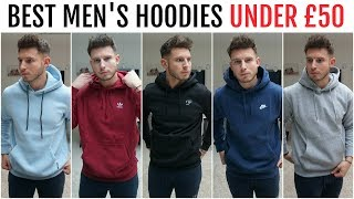 BEST HOODIES FOR MEN UNDER £50 | Menswear Essentials (Nike, Adidas & More)