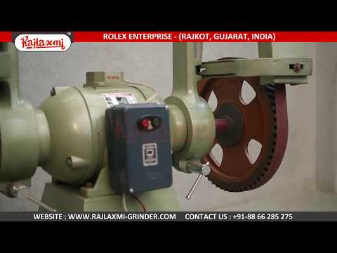 Pedestal Belt Grinder Machine