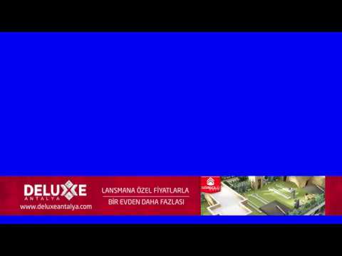 Deluxe Antalya Lansmana Özel TV Bant Reklam