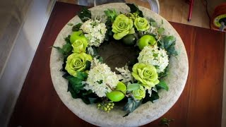 How To Make A Wreath Floristry Tutorial