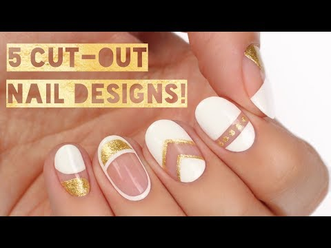 5 PERFECT Ways To Wear NEGATIVE SPACE Nails!