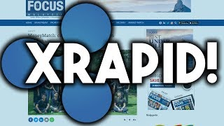 Ripple XRapid is in Full Effect!