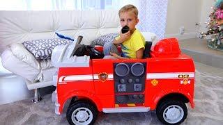 Vlad e Nikita gostam de jogar carros! Coleção de vídeos para toda a família!