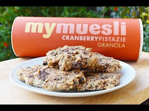 MÜSLI COOKIES / MyMuesli