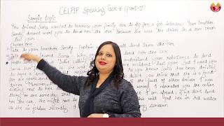 CELPIP SPEAKING  TASK-6( PART2) SAMPLE ANSWER : BY Rachna Gupta(CELPIP PTE & IELTS)