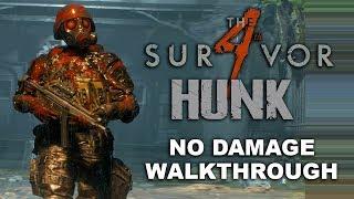 Resident Evil 2 Remake 4th Survivor Walkthrough | HUNK NO DAMAGE