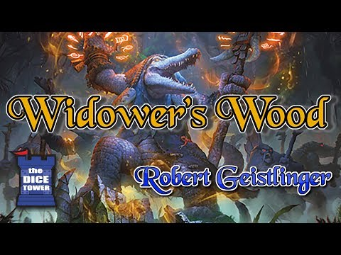 Widower's Wood: An Iron Kingdoms Adventure Board Game Review - with Robert Geistlinger