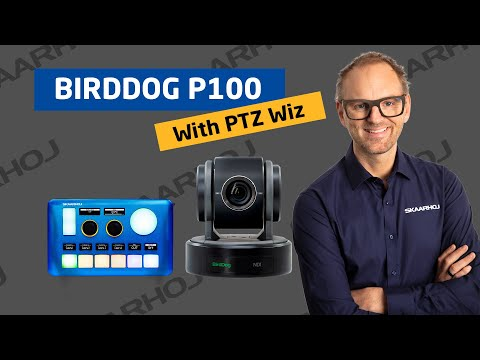 Tactile controls for Birddog P100