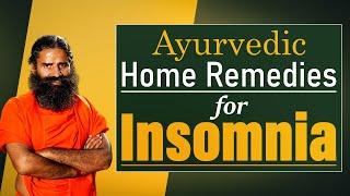 Ayurvedic Home Remedies for Insomnia || Swami Ramdev