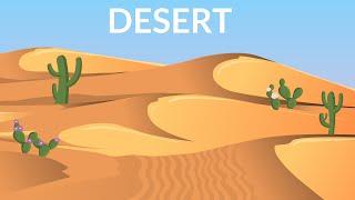 Desert - video for kids