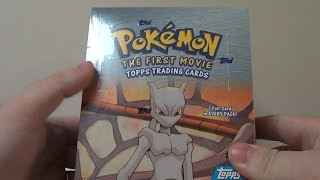 Opening a Pokemon: The First Movie Booster Box (Part 1)