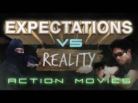 Phim ảnh VS Thực tế : Action Movies ! Hài ứ chịu được