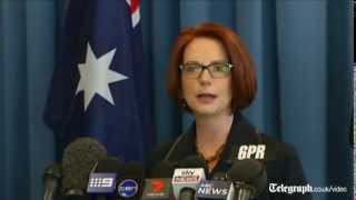 'Small breasts, huge thighs and a big red box' menu denounced as 'sexist' by Julia Gillard