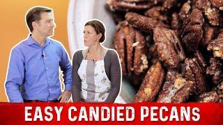 Easy Candied Pecans Recipe - Keto Friendly