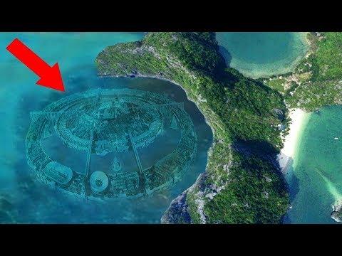 A existat ATLANTIDA? Orasul Subacvatic
