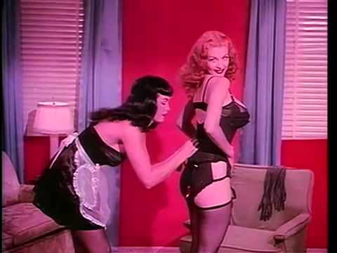 Pin-Up Ecards, Dal film Teaserama con Bettie Page e diretto da..