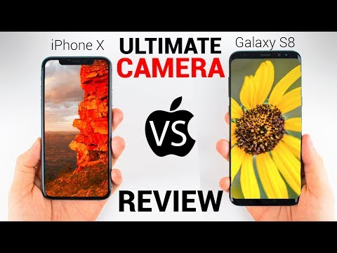 iPhone X vs Galaxy S8 – CAMERA REVIEW