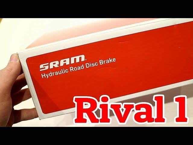 Видео Тормозная ручка левая Sram Rival 1 Mechanical Brake Lever black
