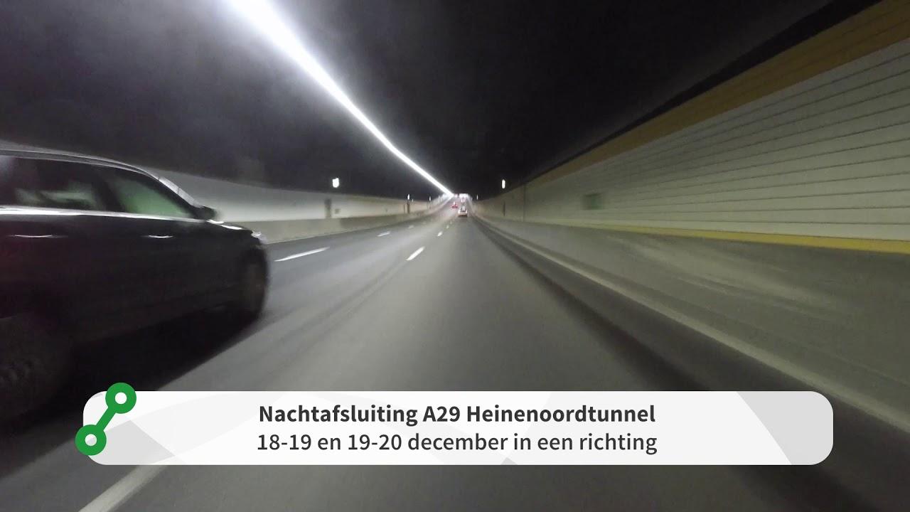 Heinenoordtunnel - Onderhoud thumbnail
