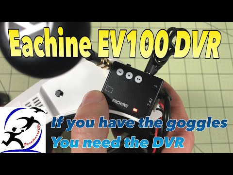 Eachine EV100 DVR Module! It actually works, it works really well.
