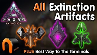 ARK Extinction ARTIFACTS  - THE BEST WAY TO GET THEM!