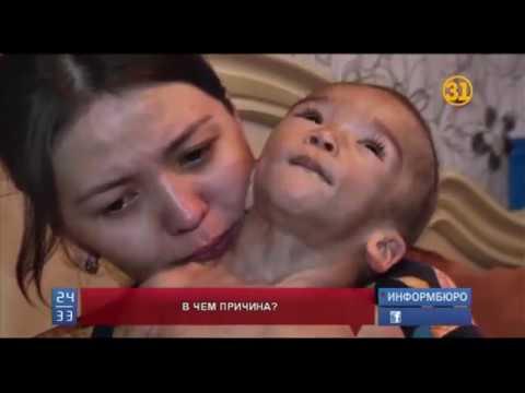 Родители полуторагодовалого малыша считают, что он стал инвалидом из-за прививки