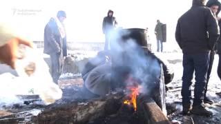 Migrants Fight Brutal Weather In Belgrade
