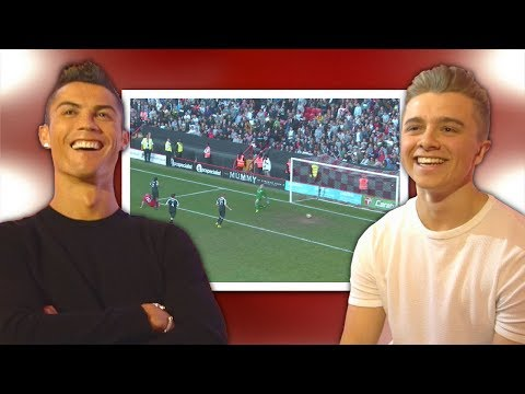 Download Cristiano Ronaldo Reacts To My Football Videos HD Mp4 3GP Video and MP3