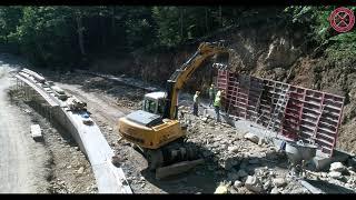 Radovi na rekonstrukciju puta Mojkovac–Lubnice, dionica Mojkovac–Vragodo, 07.09.2021