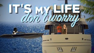 Chawki   It's My Life Feat. Dr. Alban (Produced By RedOne & Rush) Official Lyric Video