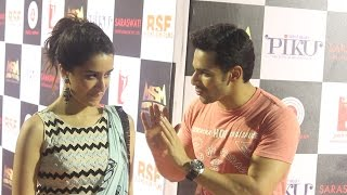 Shraddha Kapoor & Varun Dhawan | Piku Success Party