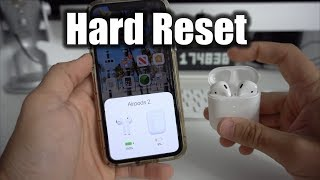 How To Reset your Apple AirPods 2 - Hard Reset