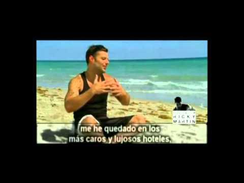 Ricky Martin video Música, alma, sexo - Entrevista CM 2011