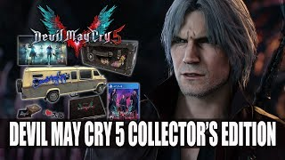devil may cry 5 collectors edition unboxing