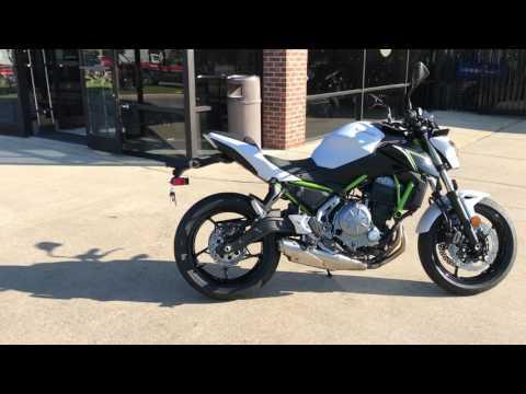 2017 Kawasaki Z650 in Greenville, North Carolina