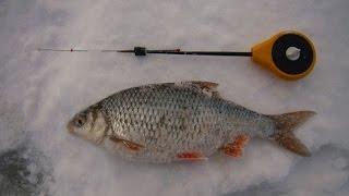 Зимняя рыбалка. Трудовая ловля плотвы и густеры на верхней Волге.