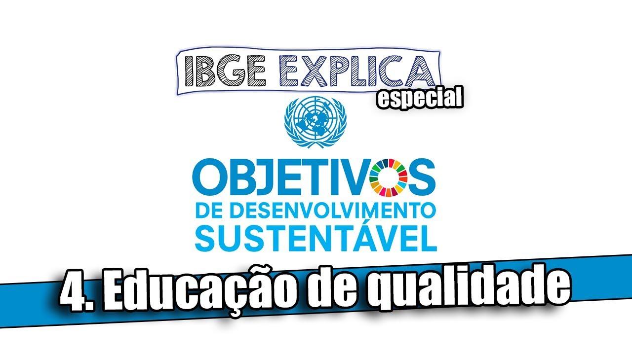 IBGE Explica • ODS 4